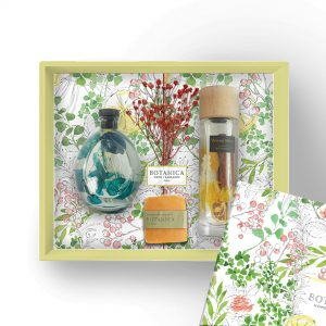 Botanica Gift Set Package – Double Happiness (Round & Wood Mist Diffuser)