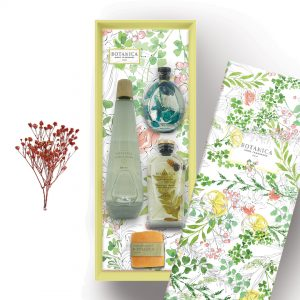 Botanica Gift Set Package – Luck & Love (Natural, Fleur & Round Diffuser)