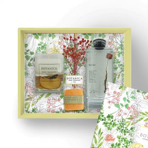 Botanica Gift Set Package – Message Of Love (Botanica Candle & Message Diffuser)