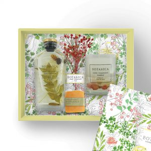 Botanica Gift Set Package – Perfect Match (Botanica Candle & Fleur Diffuser)